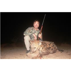 3-Day Spotted Hyena Hunt in Zimbabwe for One (1) Hunter