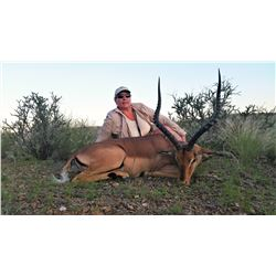 5-Day Oryx, Springbok and Impala Hunt in Namibia for One (1) Hunter and One (1) Non-Hunter