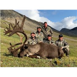 10 - Day Trophy Mountain Caribou at Arctic Red River Outfitters for (2) Two Hunters