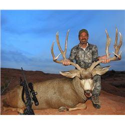 2020 Utah Buck Deer San Juan, Elk Ridge Conservation Permit, Hunter's Choice