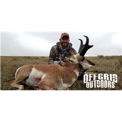 3-Day Wyoming Pronghorn Antelope Hunt for Two Hunters With Offgrid Outdoors