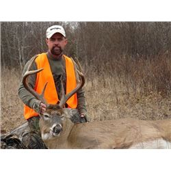 5-Day Northern Whitetail Hunt in Canada for One (1) Hunter