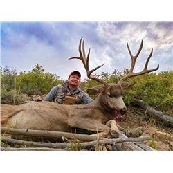 2020 Colorado Mule Deer Hunt for One (1) Hunter