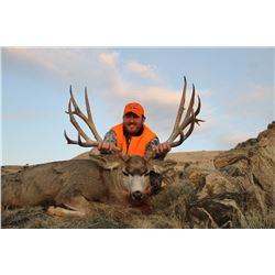 Antelope Island Mule Deer Conservation Permit