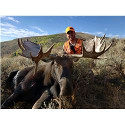 2020 Utah Statewide Bull Moose Conservation Permit