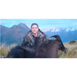 DEERBROOKE SAFARIS - NEW ZEALAND | Bull Tahr for One Hunter and One Non-hunter