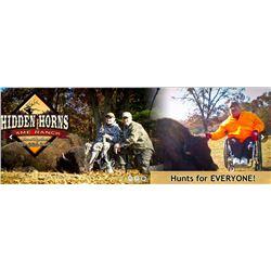HIDDEN HORNS GAME RANCH - Howard City, MI | North American Bison