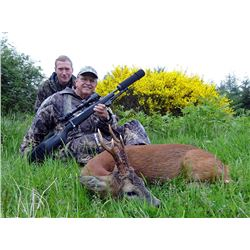 International Adventures Unlimited | SPRING ROE DEER HUNT