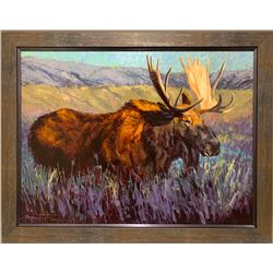 MOOSE FLATS By Artist Terry Lee