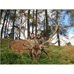 International Adventures Unlimited | Scotland Red Stag Hunt