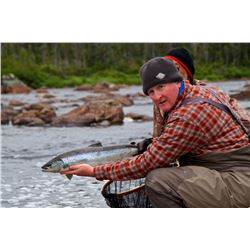ATLANTIC SALMON & BROOK TROUT | Arluk Outfitters, Newfoundland | Includes Helicopter transport