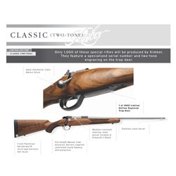 Kimber Classic Traditional 84 M Rifle in 6.5 Creedmoor Caliber