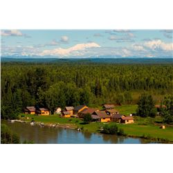 6 Days / 5 Nights Fully Guided Salmon Fishing Trip for 1 Angler at McDougall Lodge, Lake Creek, Alas