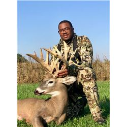 Three Day Indiana Monster Whitetail Estate Hunt for One Hunter and One Observer