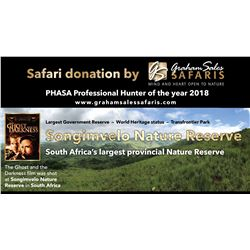 Seven Day South African Plains Game Safari for Two Hunters.