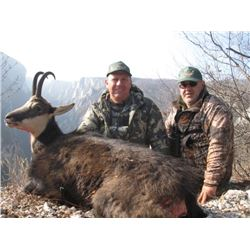 Serbia Chamois Hunt for two hunters.