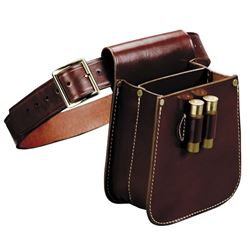 Triple K Leather - Shot Shell Bag with Belt