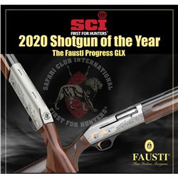 SCI Shotgun of the Year - Fausti Progress GLX 20ga