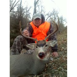 Four Day Nebraska Muzzleloader Mule Deer or Whitetail Deer Hunt for One Hunter