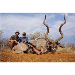 Kudu Hunt, Tiger Fishing Trip and Mount for 2 Hunters with Hawk-Eye Safaris