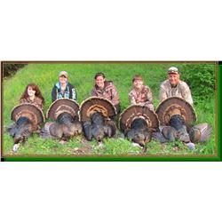 Washington Cast & Blast for Turkey & Walleye for 3