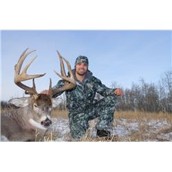 Canadian Whitetail Hunt with High 5 Outfitters