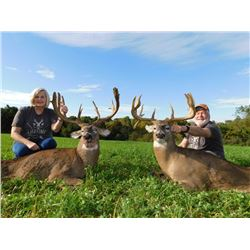 Ohio Whitetail Hunt for 2 hunters with Briarwood Lodge