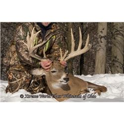 Whitetail Deer hunt with Xtreme World Class Whitetails of Ohio