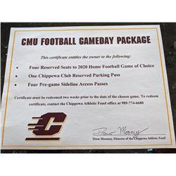 CMU Football Package