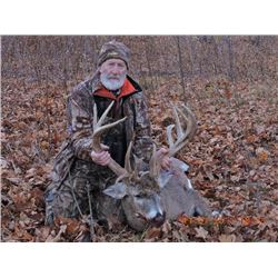 "2 Day Whitetail Buck Hunt (170"") for One Hunter and One Non-Hunter"