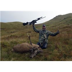 7 Day Fall Red Stag Hunt One Hunter