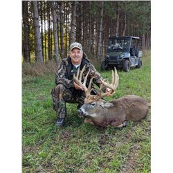 "2 Day Whitetail Buck Hunt for One Hunter up to 170 inch; ($100 per inch over 170"")"