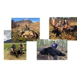 8 Day Canadian Moose, Black Bear & Wolf Hunt for One Hunter