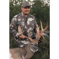 "3 Day Whitetail up to 180"" (170-180"") Hunt for One Hunter"