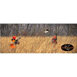 10 Bird Pheasant Hunt and a 1 year membership Donated by Caribou Gun Club