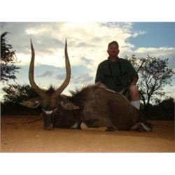 10 Day 8 Hunting Days 2 Hunters $ 4000 credit to be shared in South Africa Donated by Marupa Safaris