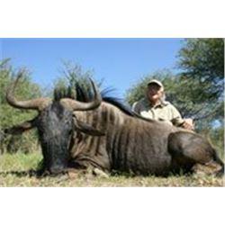 3 Day Namibia Safari for 2 hunters includes 1 gemsbok and 1 blue wildebeast Donated by Onduri Safari
