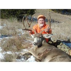 Nebraska: 4 Day 4 Night Deer Hunt (Mule Deer or Whitetail Deer) for One Hunter