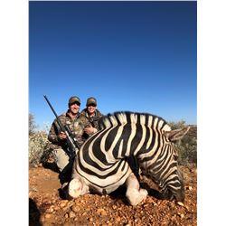 Namibia: 5 Day Safari for 2 hunters / Including 2 Hartman Zebra