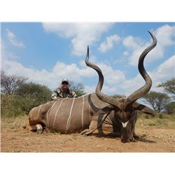 South Africa: 5-day South Africa Kudu Hunt for 2 Hunters / Includes 2 Kudu