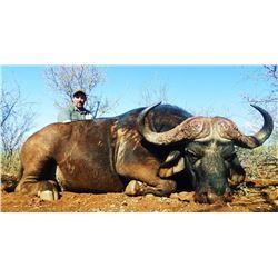 South Africa:10 Day Safari for 2 Hunters & Observers, 14,400 TF Credit or 1 Cape Buffalo + 1 Nyala