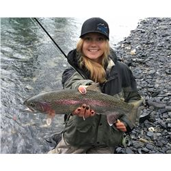 Alaska: 4 Day 3 Night Lake Creek Fishing Adventure for 2 Anglers, includes float plane transportatio