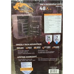 Alaska: Grizzly Tech Advantage 48 + 8 Fire & Waterproof Gun Safe (Local Pickup Only)