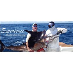 Panama:  All Inclusive 4 Night 3 Day Deep Sea Fishing Trip for 4 Anglers & 4 Non-Anglers.