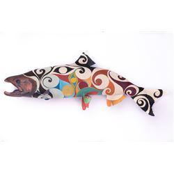 Alaska Art:  Original Sockeye Design By atrist Romney Dodd