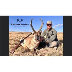 *Colorado - 2 Day Antelope Hunt for One Hunter and One Non-hunter