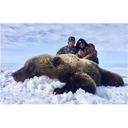 Northwest Territories – 10 Day – Arctic Grizzly Hunt for One Hunter