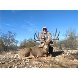 Mexico – 6 Day – Desert Mule Deer Hunt for One Hunter