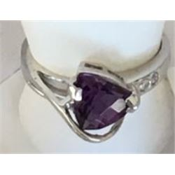 *Michigan – Brazilian Amethyst and Diamond Rind
