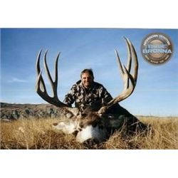 *Alberta – 8 Day – Mountain Mule Deer, Elk or Wolf Hunt for One Hunter